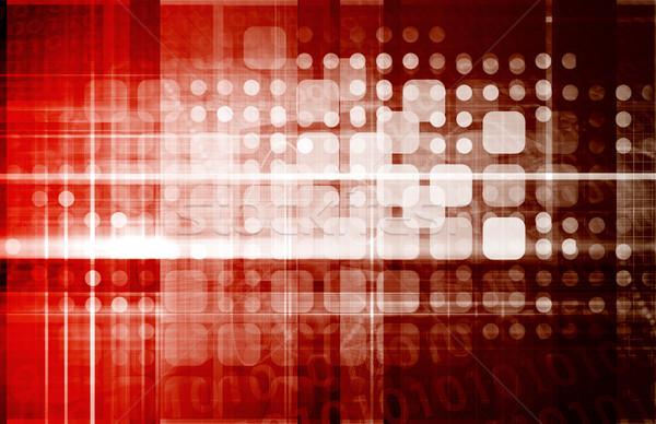 Güvenlik teknoloji güvenlik bilgisayar Internet web Stok fotoğraf © kentoh