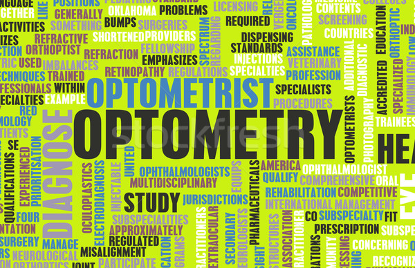 Optometry Stock photo © kentoh