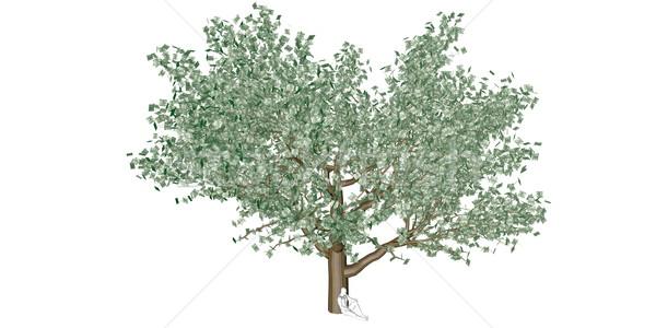 Pénzügyi tervezés beruházás növekedés személyes vagyon férfi Stock fotó © kentoh