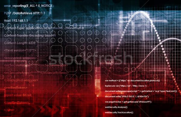 Online orvosi diagnózis egészség orvos technológia Stock fotó © kentoh