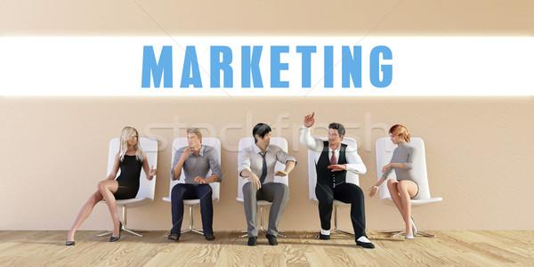 Business Marketing Stock photo © kentoh