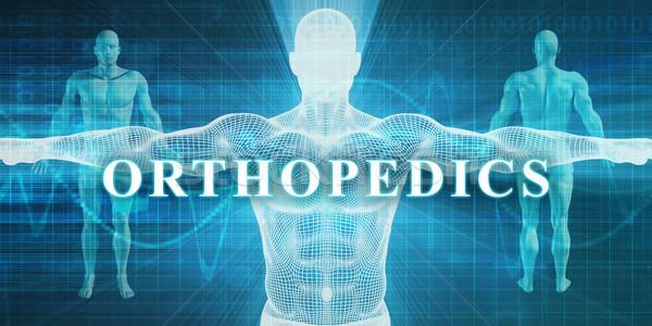 Ortopédia orvosi specialitás mező részleg orvos Stock fotó © kentoh