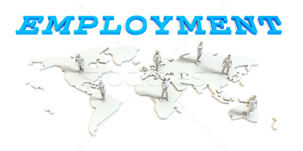 Employment Global Business Stock photo © kentoh