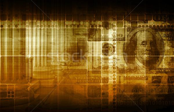 Governo economia monetaria leggi abstract business Foto d'archivio © kentoh