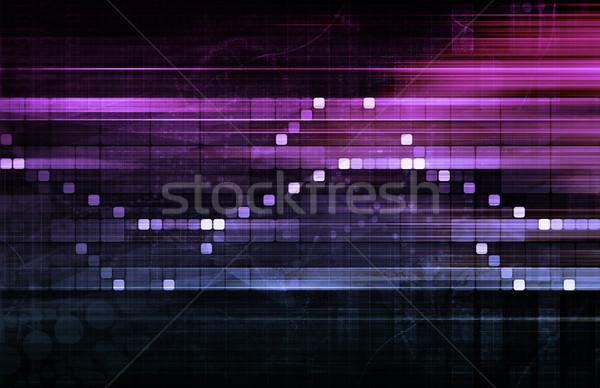 Data Tracking Stock photo © kentoh