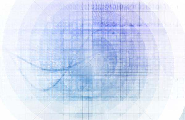 üzlet porta internet technológia hálózat sebesség Stock fotó © kentoh