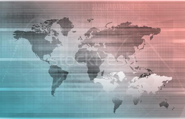Telecommunications Network Stock photo © kentoh