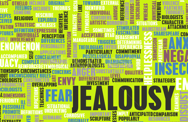 Jealousy Stock photo © kentoh