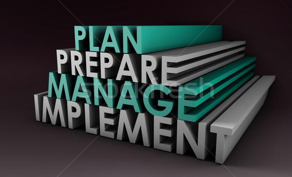 Management Planning Stock photo © kentoh