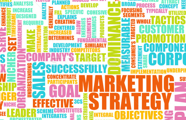 Stock photo: Marketing Strategy