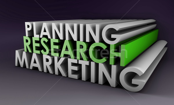 Strategia marketingowa podpisania korporacyjnych przyszłości firmy cel Zdjęcia stock © kentoh