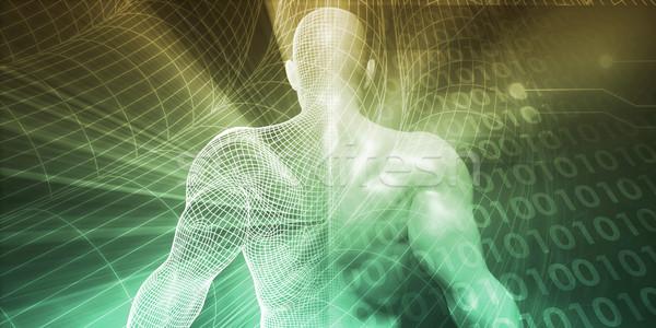 Tecnología innovación creatividad ciencia industria negocios Foto stock © kentoh