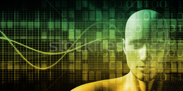 Menselijke implantaat technologie medische gezondheid geneeskunde Stockfoto © kentoh