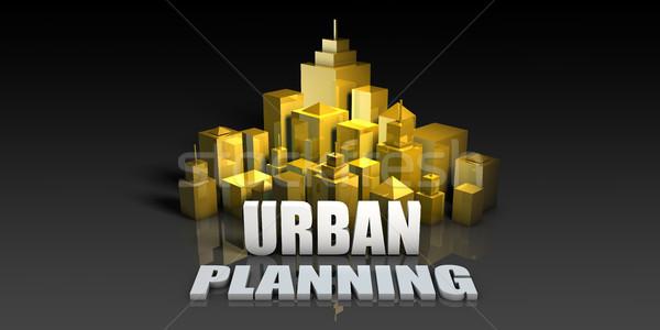Urban Planning Stock photo © kentoh