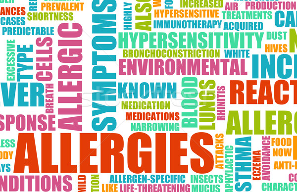 Allergies Stock photo © kentoh