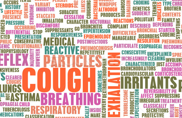 Coughing Concept Stock photo © kentoh