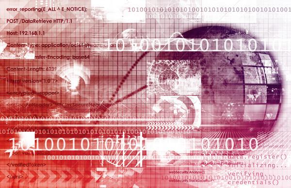 Technologie wetenschap toekomst business achtergrond web Stockfoto © kentoh
