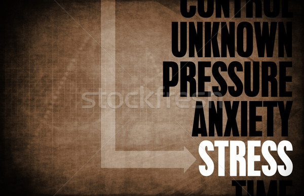 Stress Stock photo © kentoh