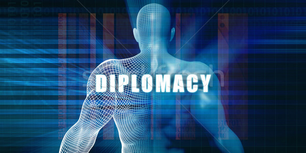 Diplomacy Stock photo © kentoh