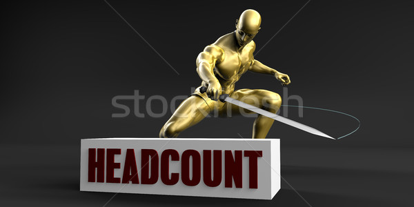Reduce Headcount Stock photo © kentoh