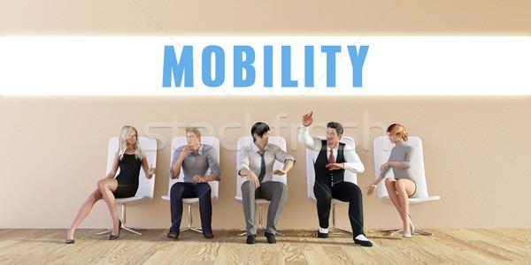 Business Mobility Stock photo © kentoh