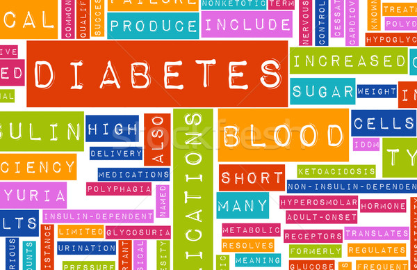 Diabète médicaux maladie état santé peur Photo stock © kentoh