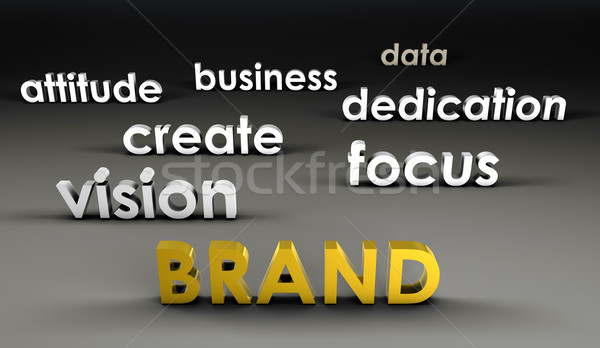 Brand at the Forefront Stock photo © kentoh