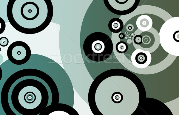Colorful Simplistic and Minimalist Abstract Stock photo © kentoh
