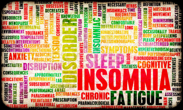 Insomnia Stock photo © kentoh