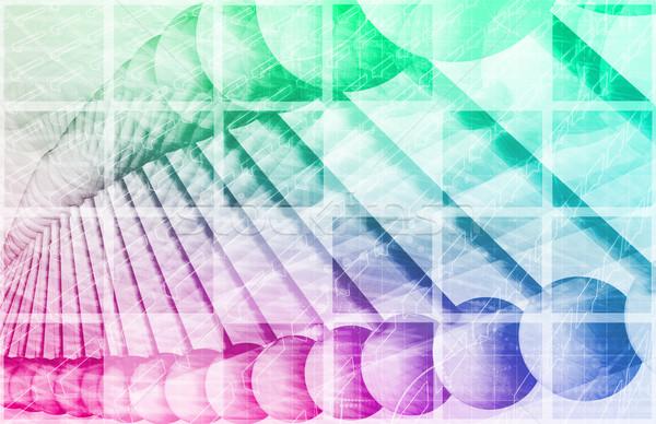 Badania naukowe genetyczny DNA nauki medycznych zdrowia Zdjęcia stock © kentoh