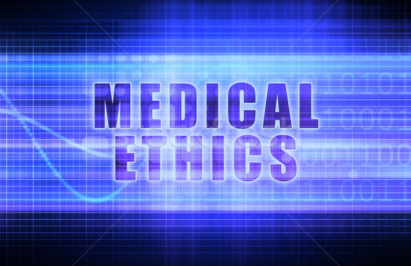 Medical Ethics Stock photo © kentoh