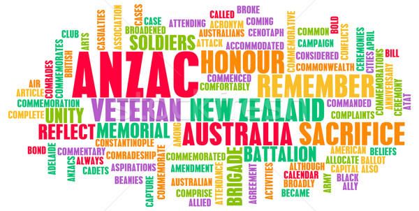 ANZAC Day Stock photo © kentoh