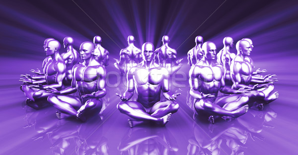 Yoga Classes Stock photo © kentoh