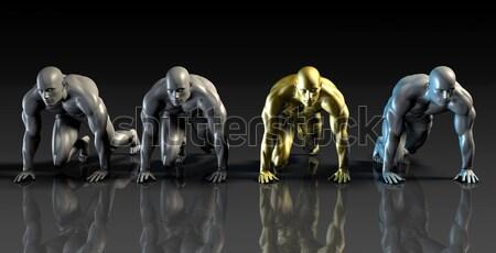 Empowered Workforce Stock photo © kentoh