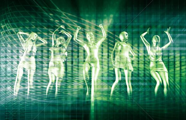 Dancing People Stock photo © kentoh