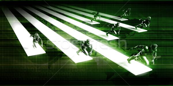 Stock photo: Business Accelerator