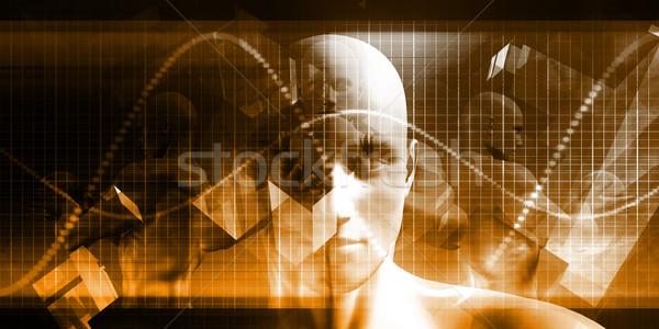 Digital Healthcare Stock photo © kentoh