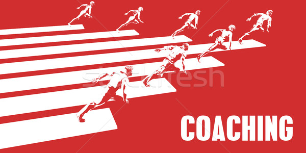 Coaching Stock photo © kentoh