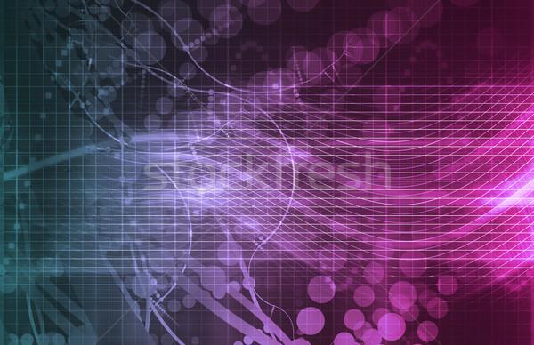 DNA biotech chemia muzyka nauki Zdjęcia stock © kentoh
