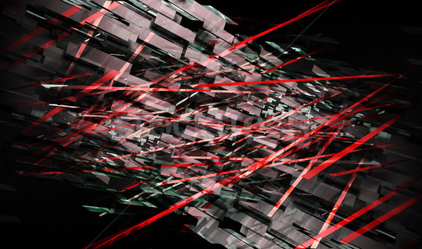Futuristic Lines Stock photo © kentoh
