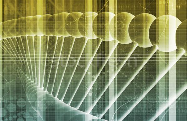 Dna wetenschap technologie achtergrond drugs Stockfoto © kentoh