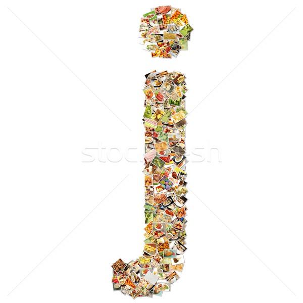 Food Art J Stock photo © kentoh
