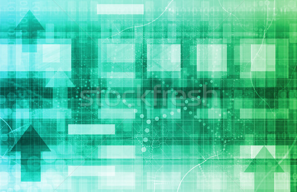 научное исследование футуристический технологий аннотация текстуры безопасности Сток-фото © kentoh