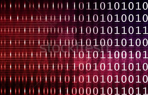 Veritabanı veri analiz iş teknoloji Stok fotoğraf © kentoh