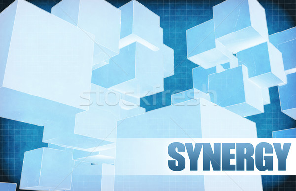 Synergy on Futuristic Abstract Stock photo © kentoh