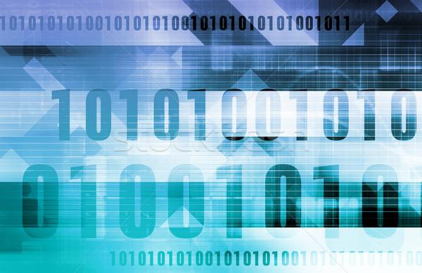 Elektronik ticaret sanayi hizmet Internet ağ Stok fotoğraf © kentoh