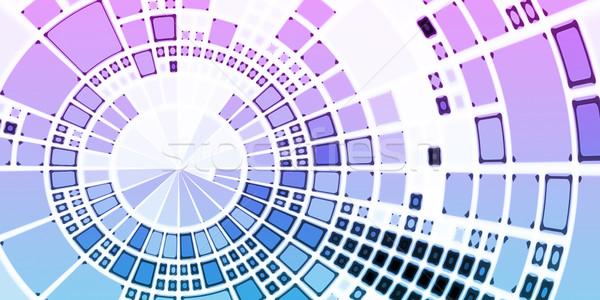 Ruchliwość komunikacji działalności Internetu komórkowych ekranu Zdjęcia stock © kentoh