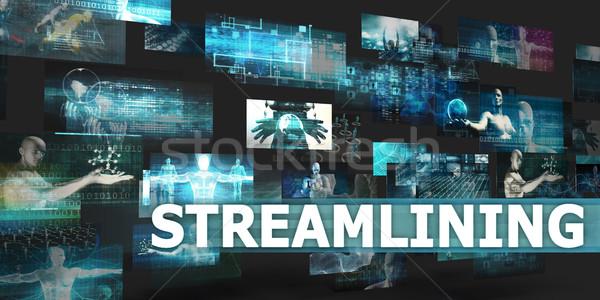 Streamlining Stock photo © kentoh