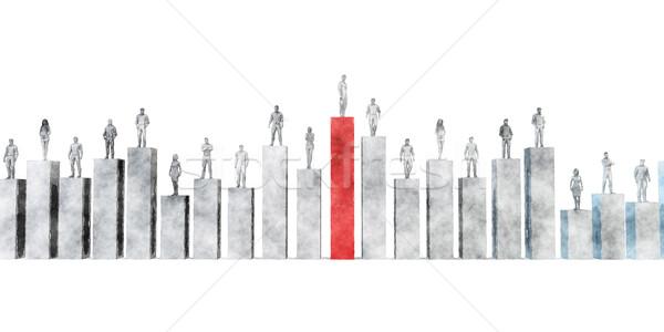 Business Management Strategy Stock photo © kentoh