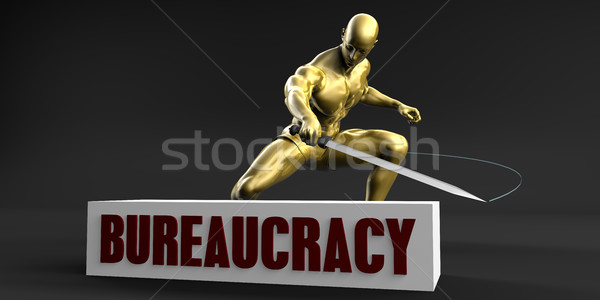 Reduce Bureaucracy Stock photo © kentoh